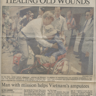 Houston Chronicle: September 1994 Edition: Healing Old Wounds