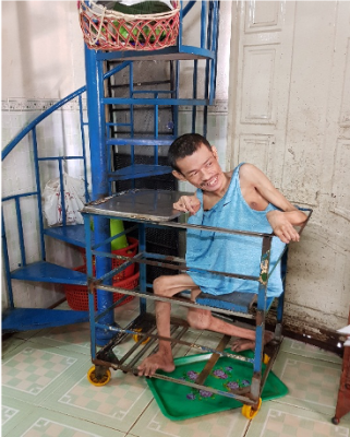USAID project expands home-based rehabilitative palliative care to people with disabilities.