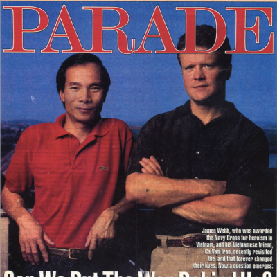 The Washington Post: Parade Magazine - August 1992 Edition: Can We Put The War Behind Us?